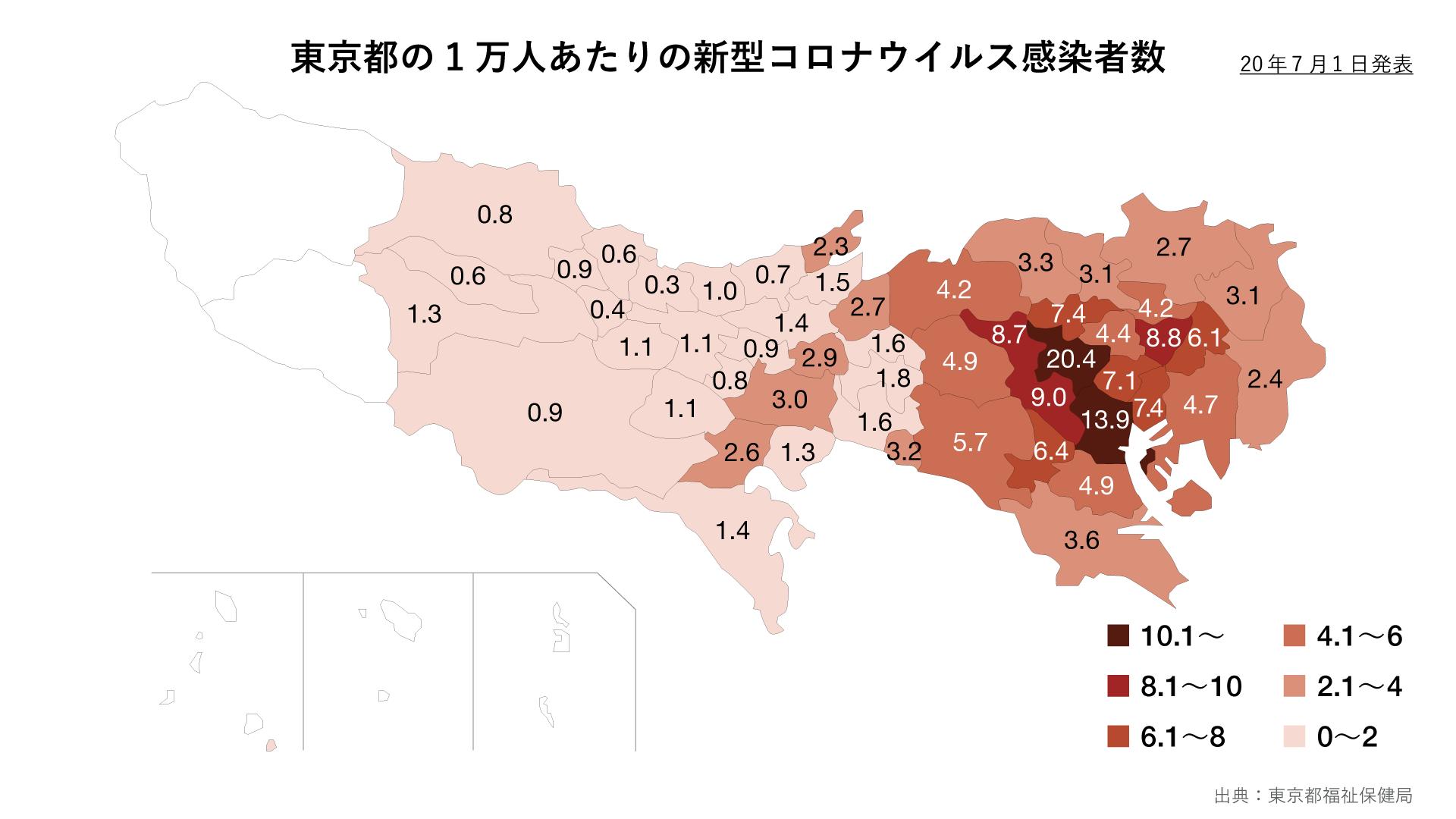 別 市 コロナ 町村 東京 区 東京都新型コロナウイルス(COVID